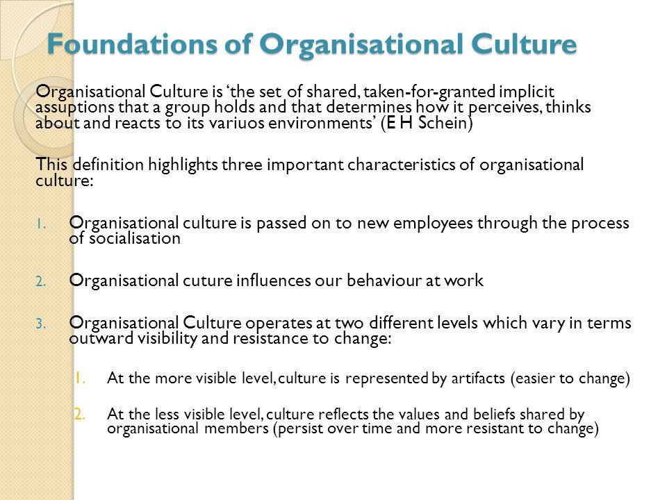 schein culture definition