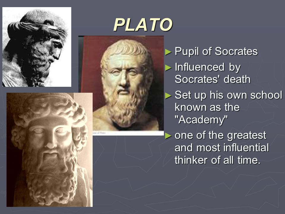 a look at the influence of socrates to the field of philosophy It is hard to overstate the profound influence socrates cast over western thought and history revered by the greeks and canonized during the renaissance, his philosophy—and that of his pupil, plato—offer an unique lens through which to understand athenian and greek history.
