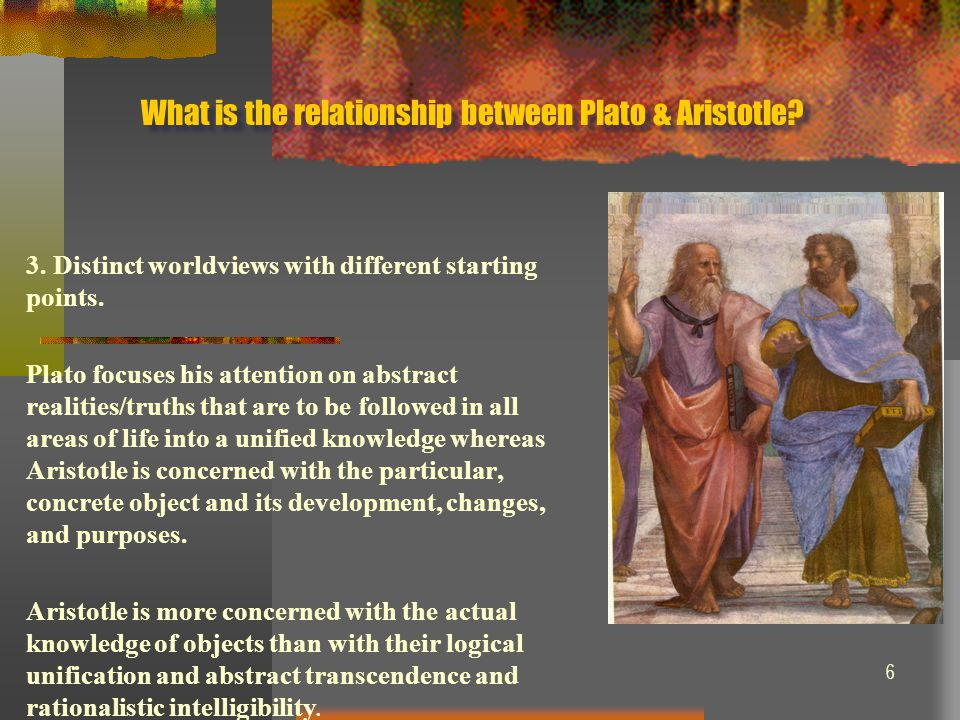 platos and aristotles worldviews What are the differences between the philosophies of socrates, plato  in making sure that worldviews do not stagnate or  between platos' and socrates.