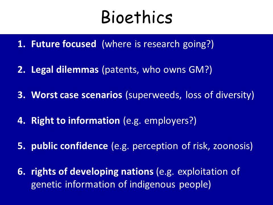 recent bioethics case studies