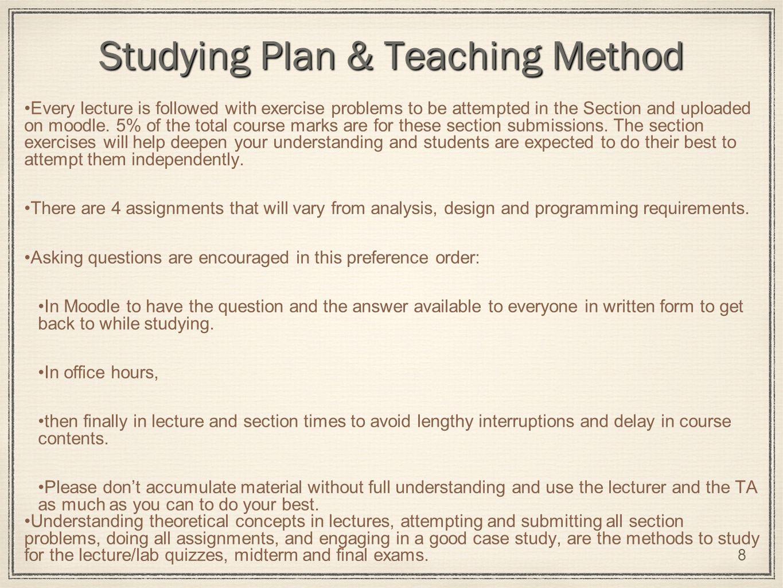 understanding of the theoretical concept