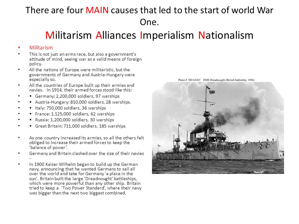 Origins of WW1 Revision. - ppt download