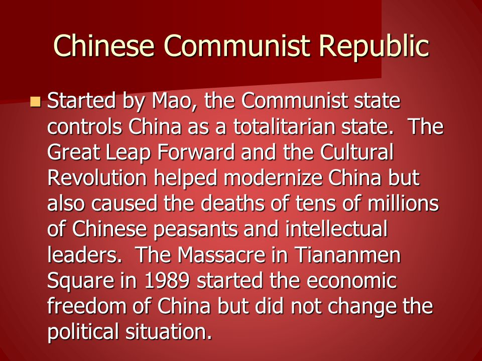 Chinese Communist Republic