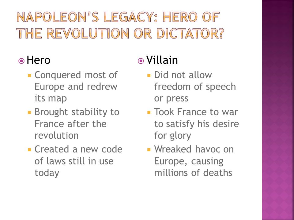 napoleon forges an empire ch ppt video online  46 napoleon s legacy hero