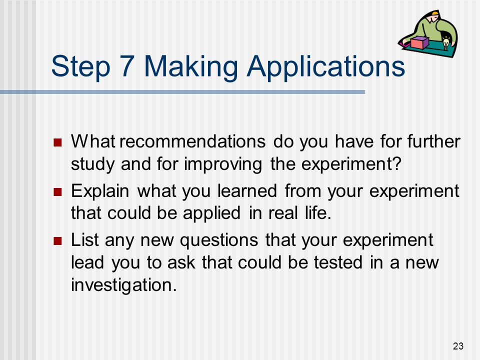 Step 7 Making Applications