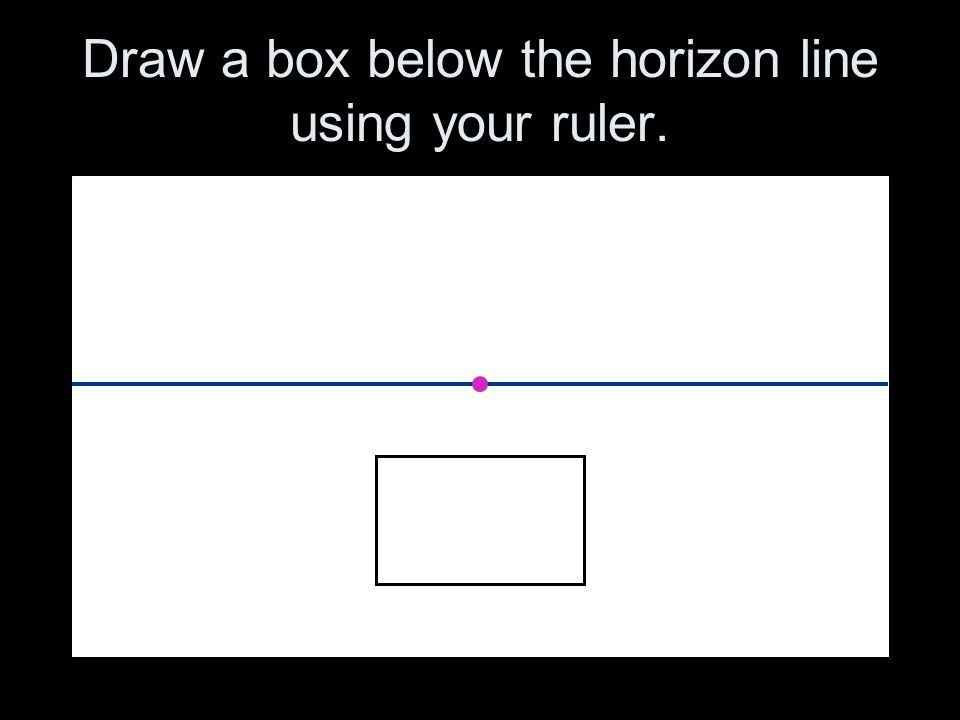 Drawing Using Horizon Lines : How to draw in point linear ppt download