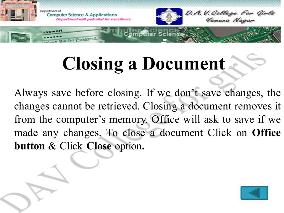cannot save changes in pdf document