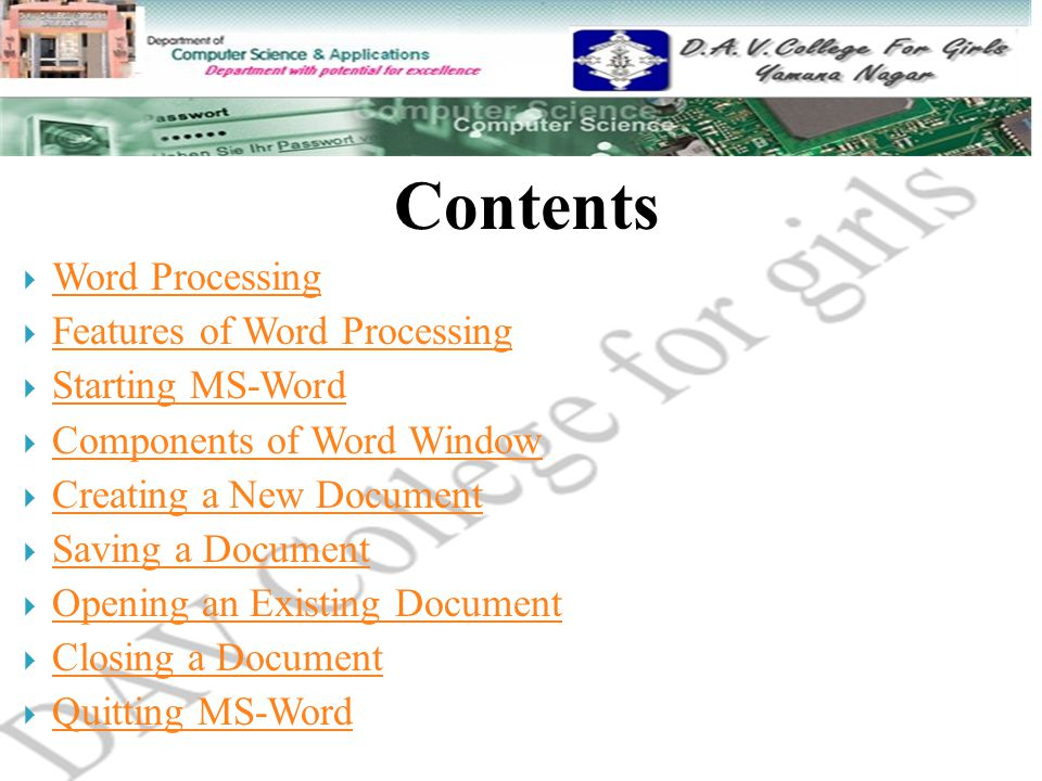 Word Processing, Word Processor and its Features