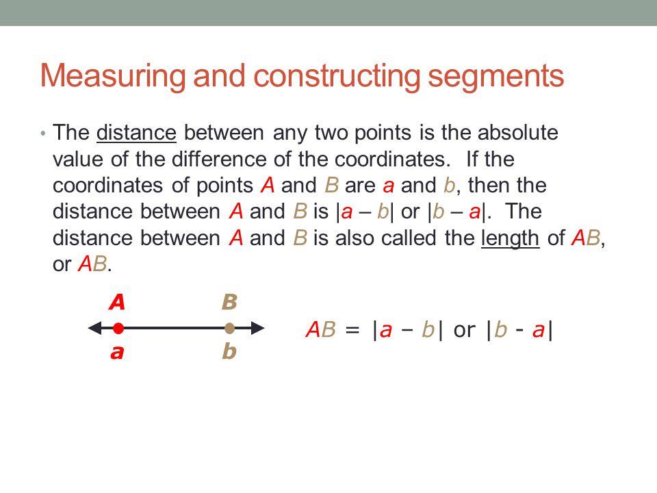 Printable Worksheets measuring line segments worksheets : Chapter measuring and constructing segments - ppt video online ...