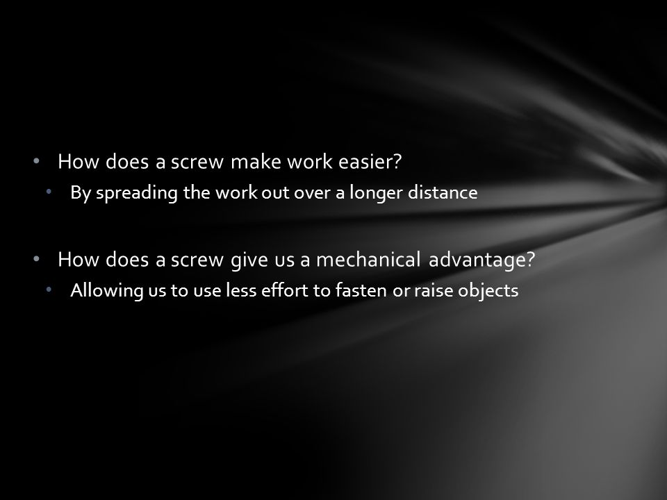 how to make a screw longer