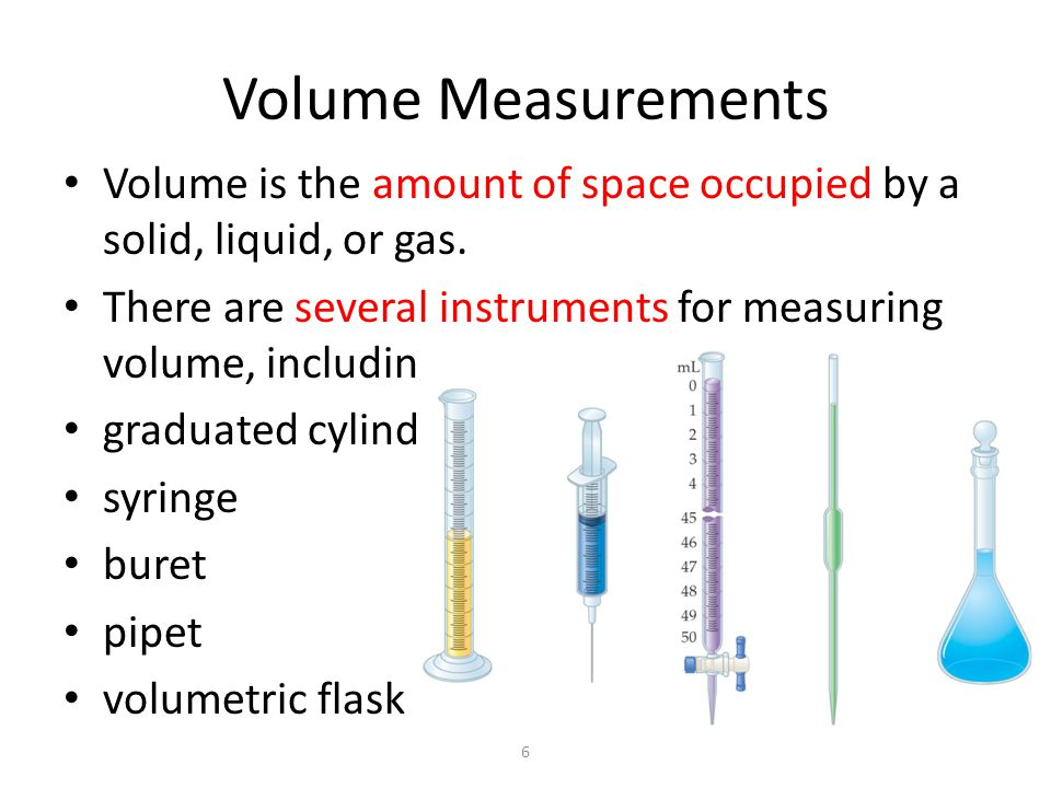 Big Volume Measuring Instruments : Important topics added to chapter ppt video online