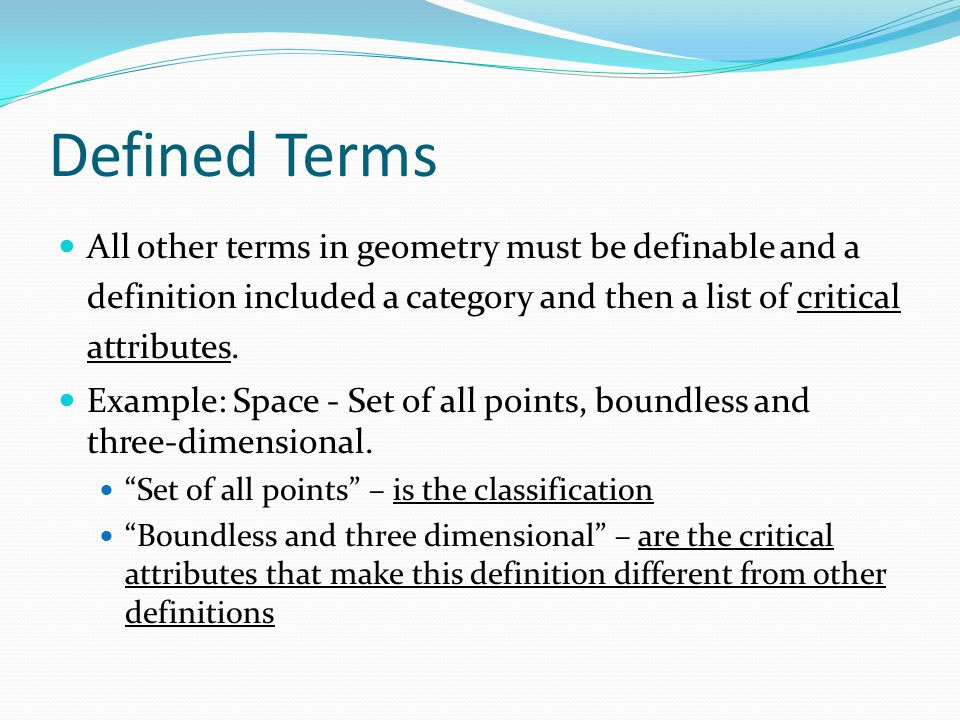 definition of point in mathematical terms This glossary contains words and phrases from first through third grade everyday mathematics to place the definitions definition, terms 232_243_gl_trm_577201.