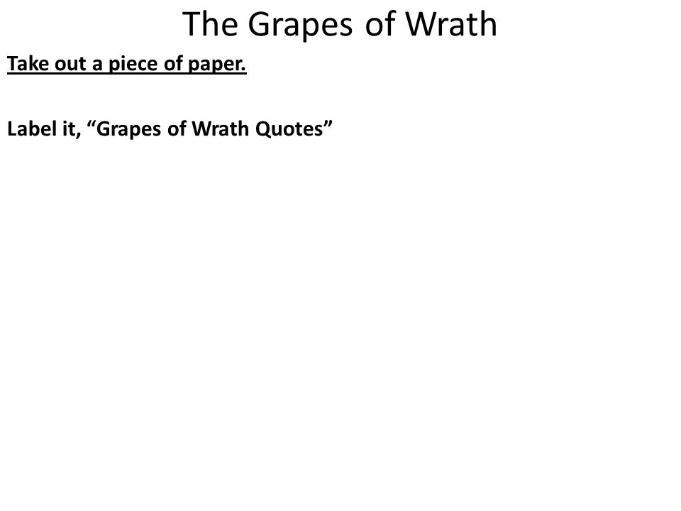 grapes of wrath american dream essay The grapes of wrath study guide contains a biography of john steinbeck, literature essays, quiz questions, major themes, characters, and a full summary and analysis  they keep alive their belief in the american dream and reassure themselves that a better life awaits them  essays for the grapes of wrath.