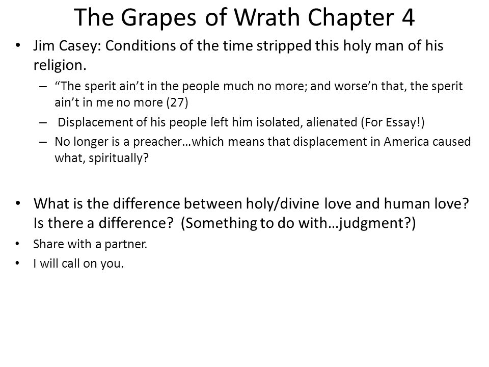 Grapes Of Wrath Essays (Examples)