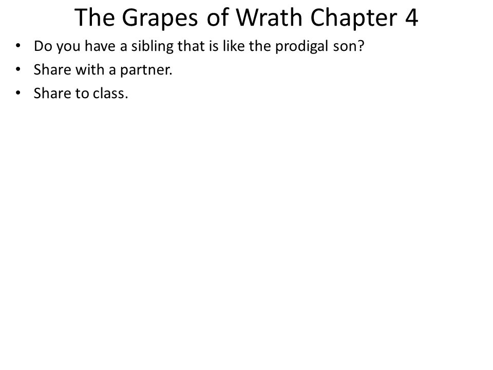 grapes of wrath biblical allusions In this lesson, we will examine some examples of allusion from ''the grapes of wrath'' by john steinbeck this novel follows the joad family as.
