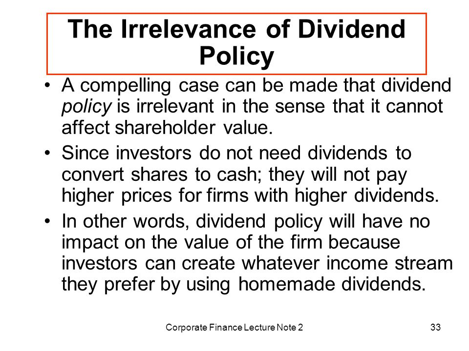 influence of agency costs on dividend Chapter 13 dividend policy  this pattern of dividend payouts is explained by the same factors that influence capital  chapter 13/dividend policy y 69 costs for.
