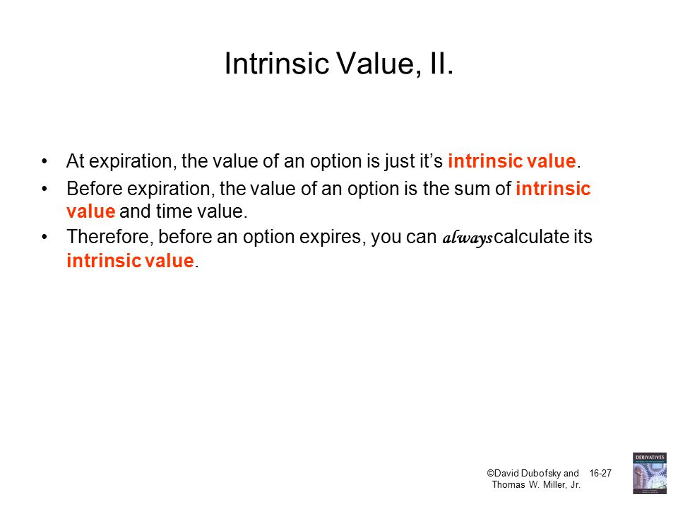 Aggregate intrinsic value of stock options