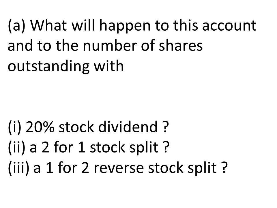 Reverse stock split stock options