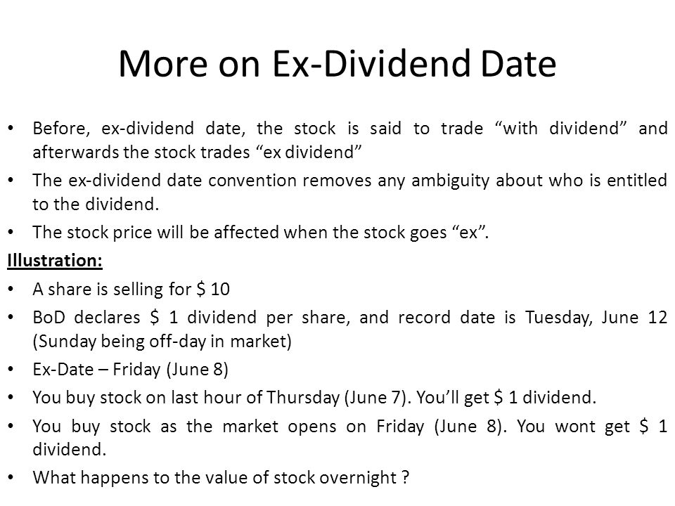 Dividend decision and stock repurchasedividend and split ppt 7 more ccuart Gallery