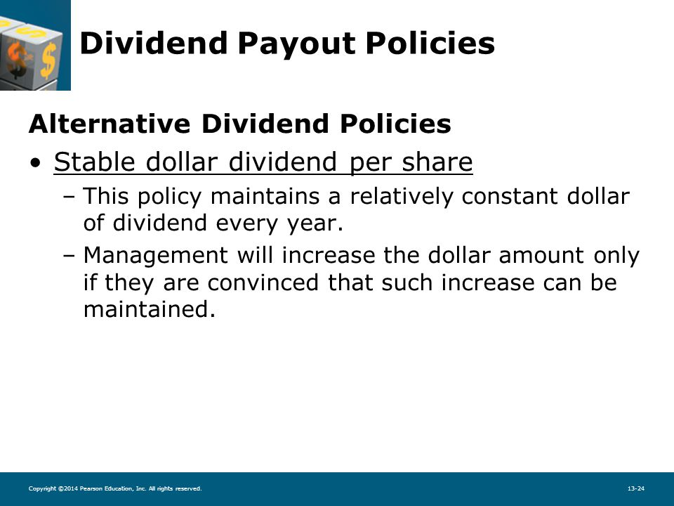 dividend policies The royal dutch shell plc policy is to grow the us dollar dividend in line with our view of the underlying earnings and cash flow of shell.