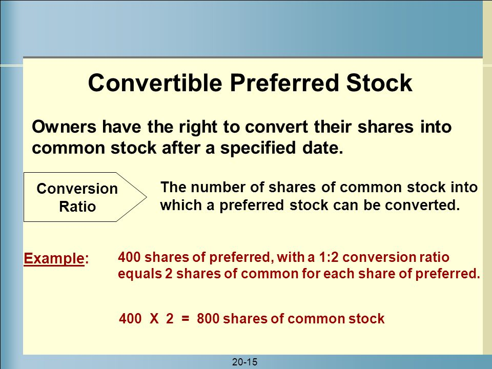 corning convertible preferred stock Let's assume you purchase 100 shares of xyz company convertible preferred  stock on june 1, 2006 according to the registration statement, each share of.