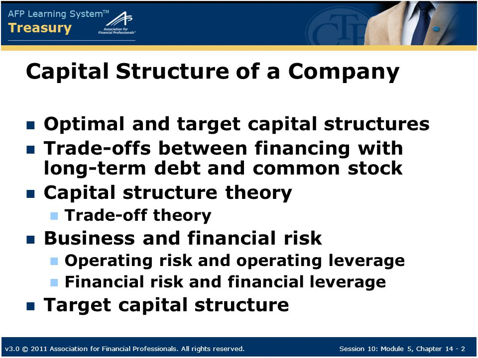 long term financing and corporate capital structure Funds are the basic need of every firm to fulfill long term and working capital requirement enterprise raises these funds from long term and short term sources in this context, capital structure and financial structure are often used capital structure covers only the long term sources of funds, whereas.