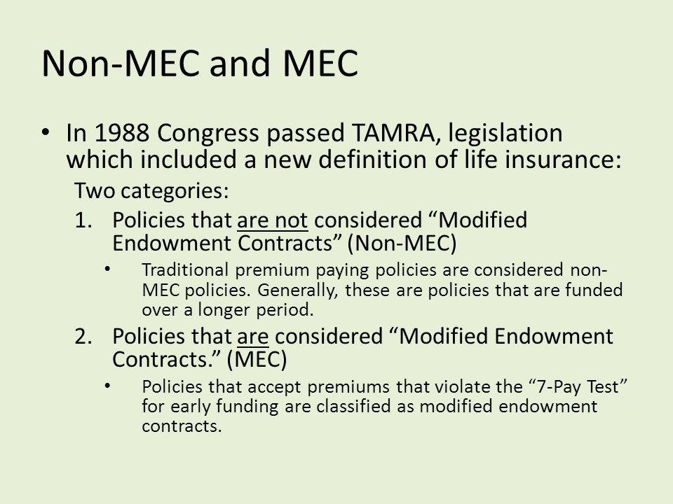 Modified Endowments and the clients who love them… - ppt download