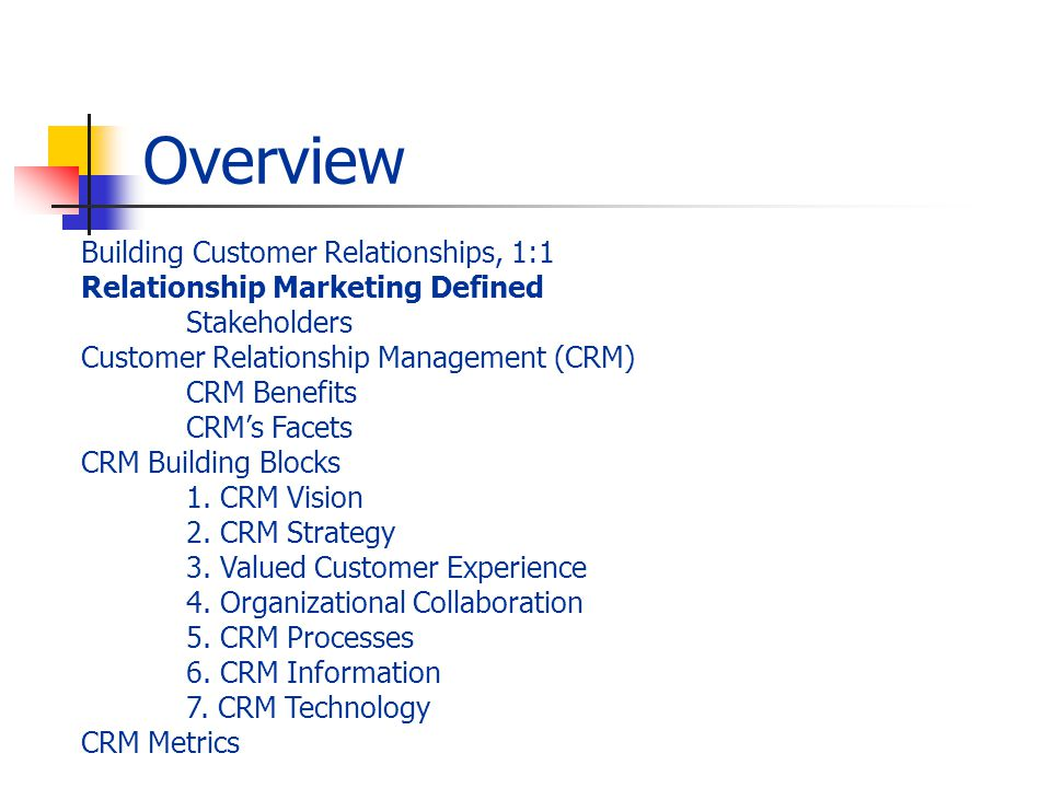 relationship building strategies in crm the purpose