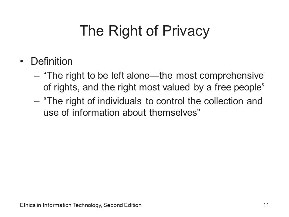 Ethics in Information Technology, Second Edition - ppt ...
