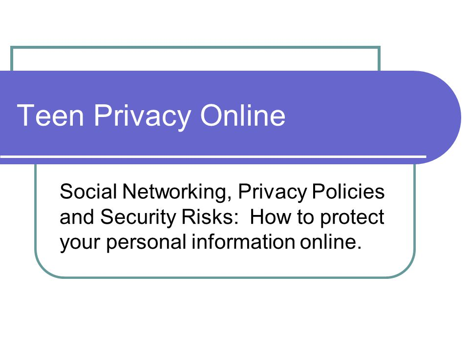 How to protect your privacy online dating