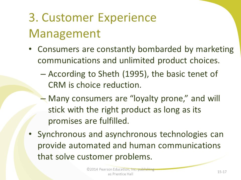 3. Customer Experience Management
