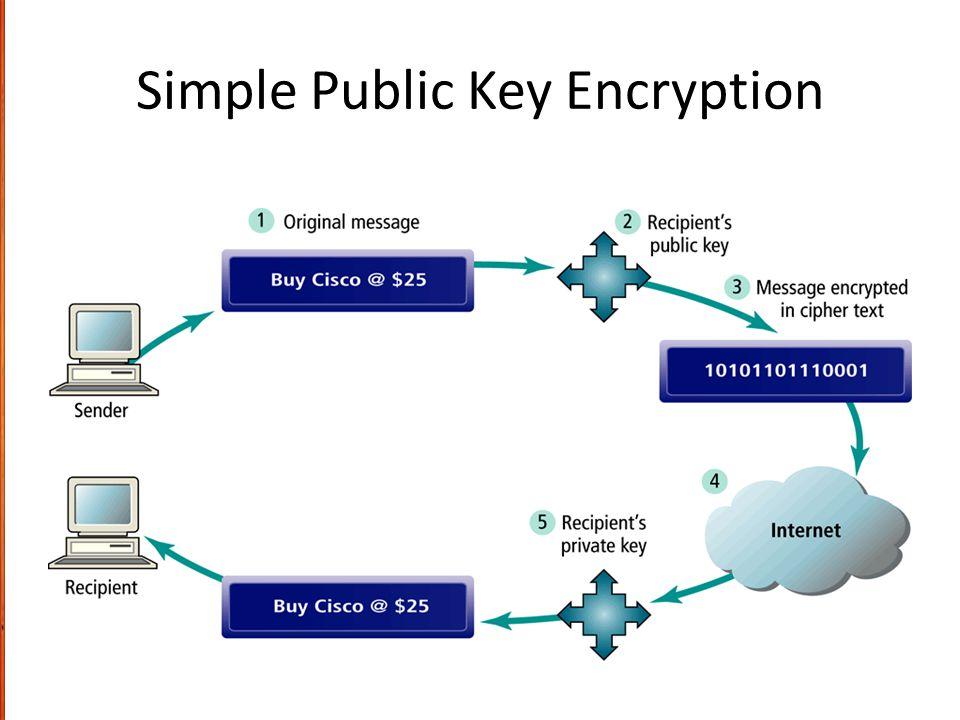 how to use public key encryption