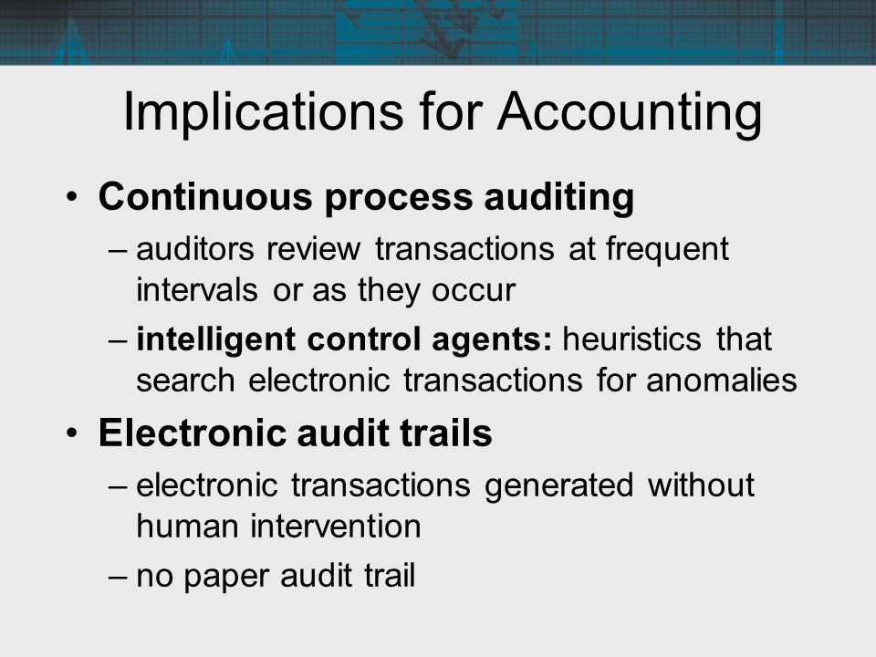 thesis audit trail Dear all, i need to implement an audit trail mechanism into an access 97 database, a function i know is not native to its operation i've been delaying the idea.