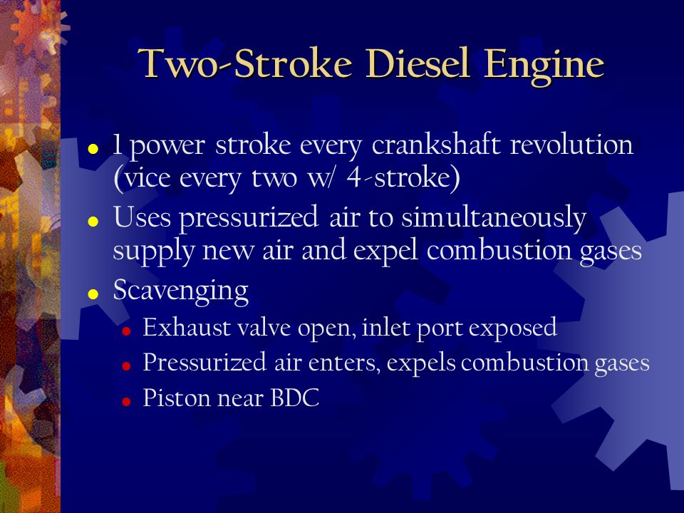 Two-Stroke Diesel Engine