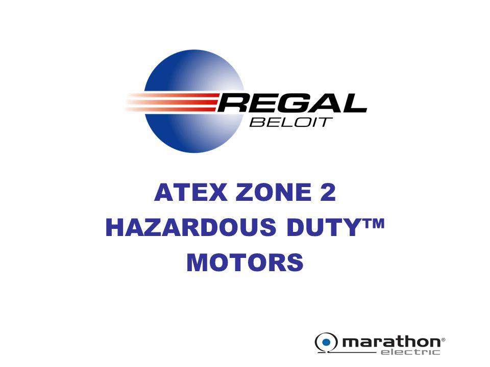 Atex Zone 2 Hazardous Duty Motors Ppt Video Online Download
