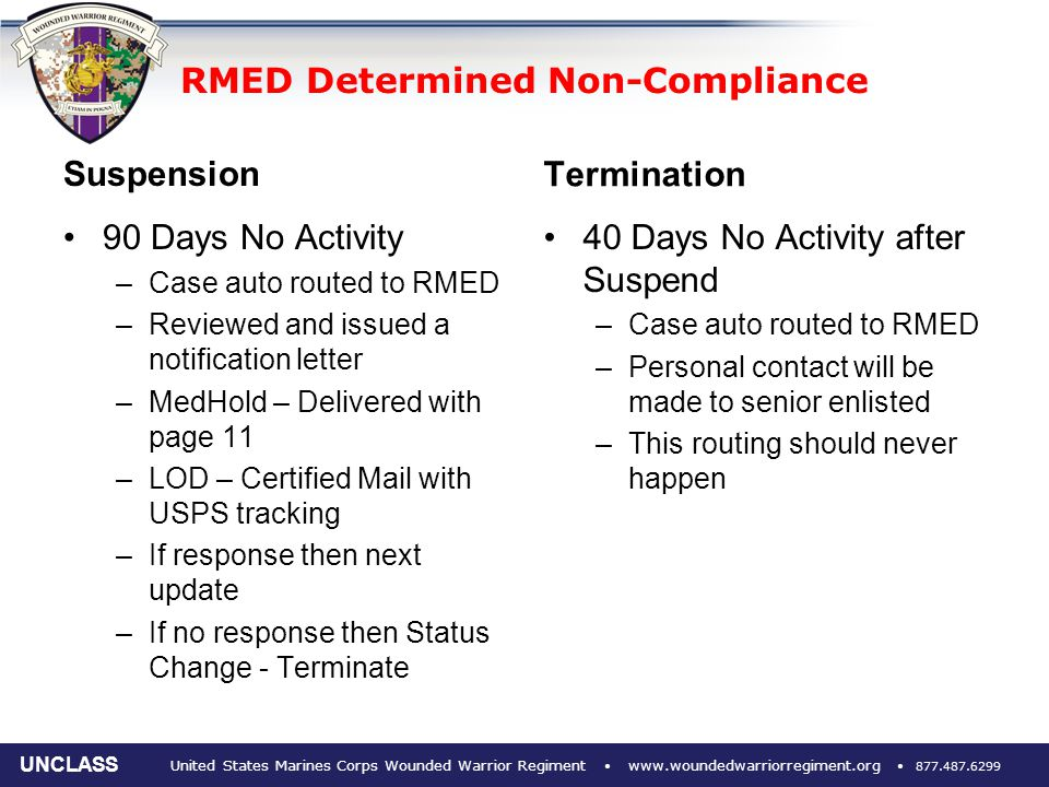 issue of compliance and non compliance