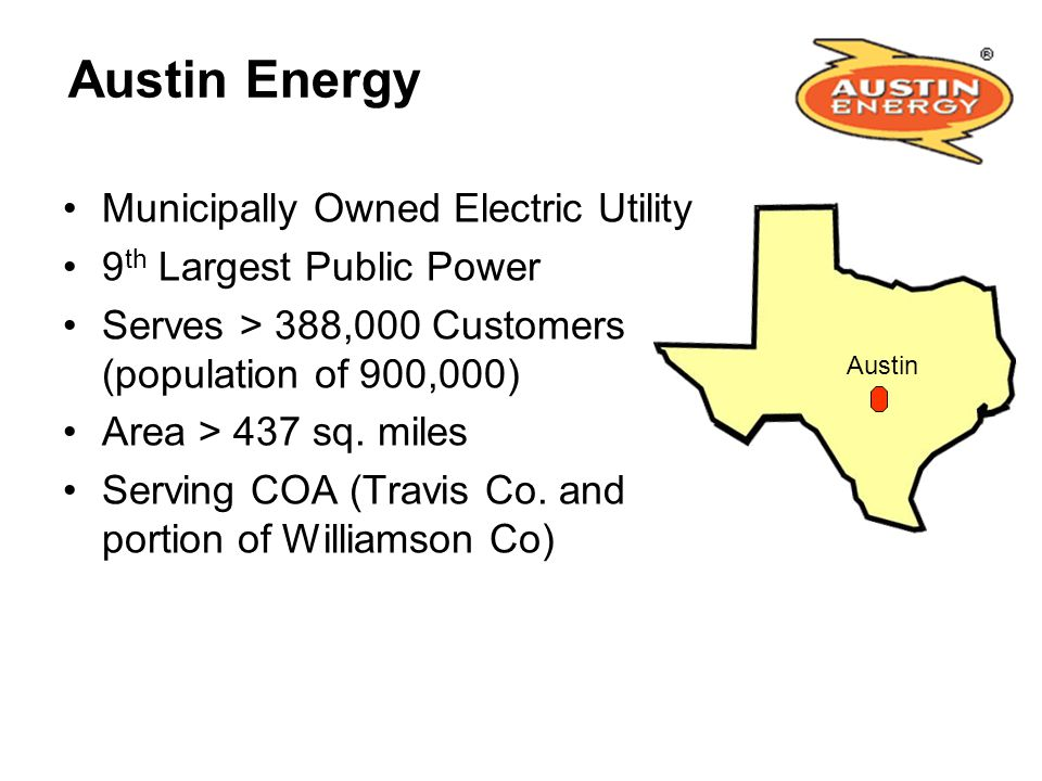 Austin Energy Municipally Owned Electric Utility