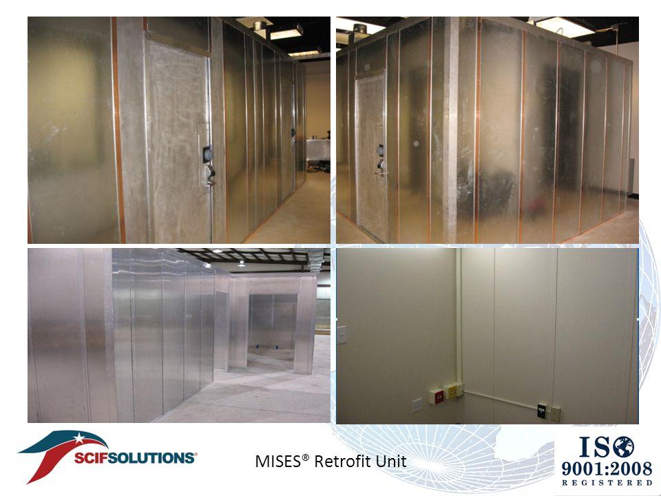 MISES® Retrofit Unit Top Left 2 room SCIF sharing a center wall & PROVIDING next generation SCIFs worldwide! - ppt download