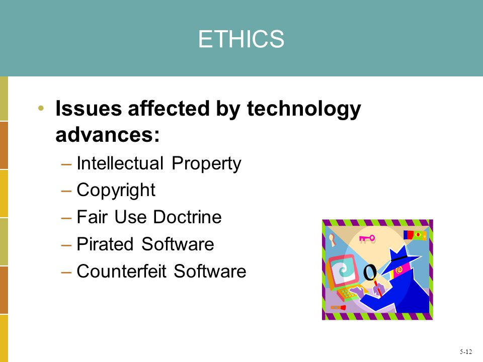 ethical issues involved in and related to intellectual property Legal & ethical issues with ip intellectual property protects ideas and inventions that individuals and companies create when companies come up with new ideas and.