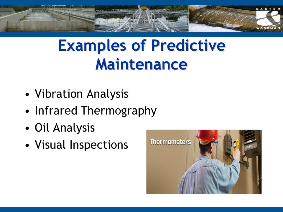 Examples of Predictive Maintenance