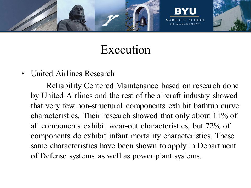 Execution United Airlines Research