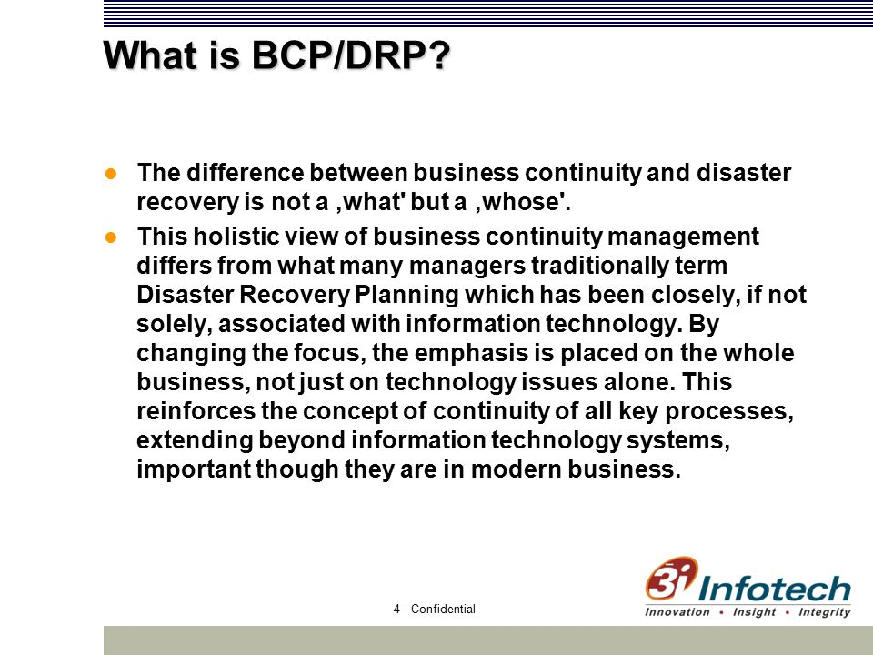 bcp drp consultancy project an approach ppt