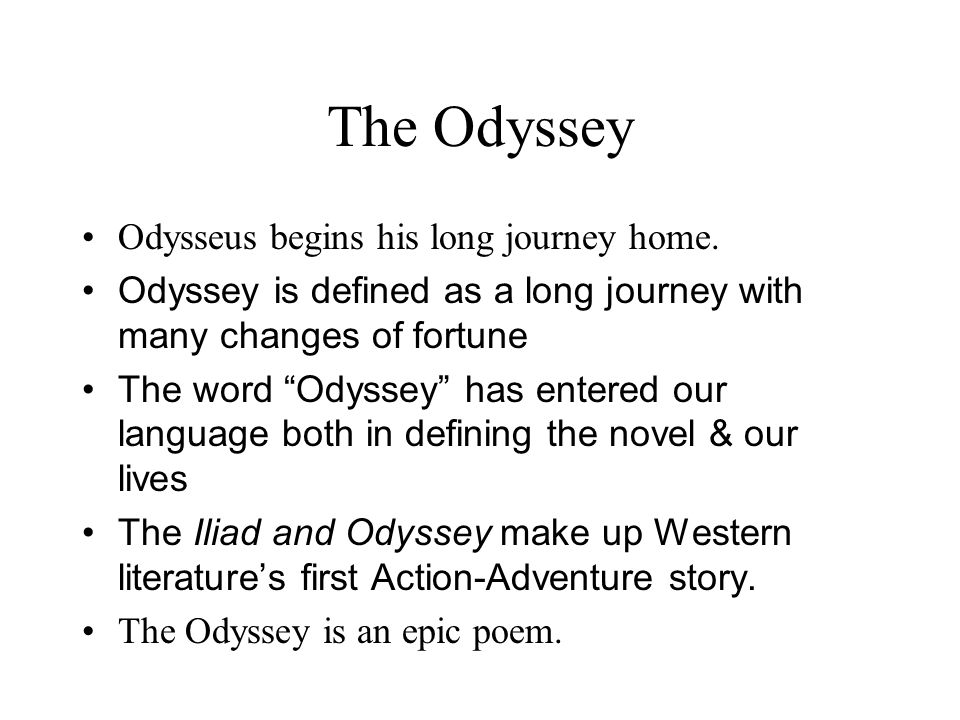 odysseuss journey to hell in the book odyssey Odysseus and diomed being permanently located in a spot in hell which is far   aeneas begins his journey in a spirit of humble obedience to higher powers   book of the aeneid (176-502) is closely modelled on odysseus' and diomed's.