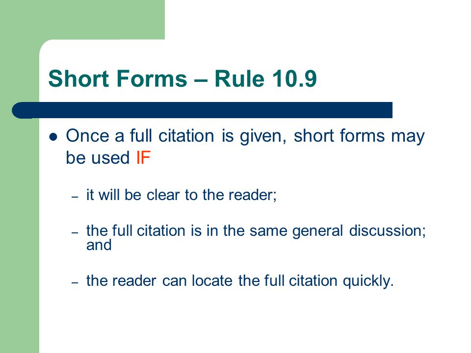 Or Everything You Need To Know About Citation In One Easy Lesson ...