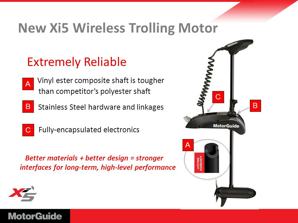 Motorguide xi5 ppt download for Xi5 wireless trolling motor