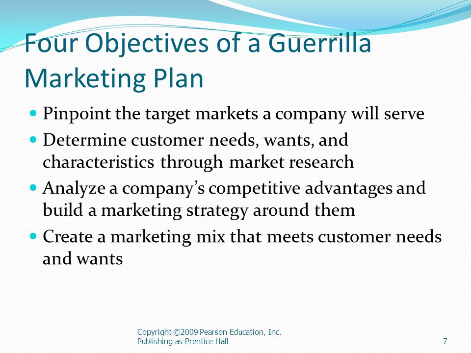 Building A Guerrilla Marketing Plan  Ppt Download