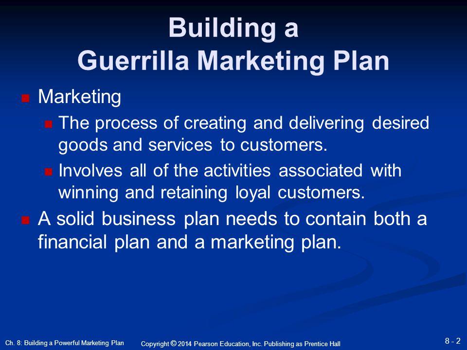 chapter 8 marketing plan hisrich Hisrich peters shepherd chapter 8 the marketing plan copyright © 2010  8-2  understanding the marketing plan marketing plan - a written.