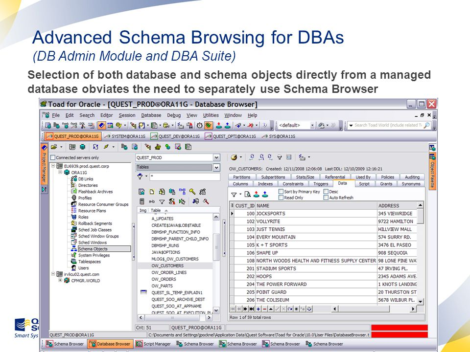 Session Browser – The DBA's Best Friend