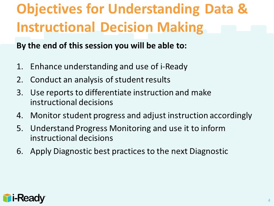 i-Ready Understanding Data (Initial Diagnostic)