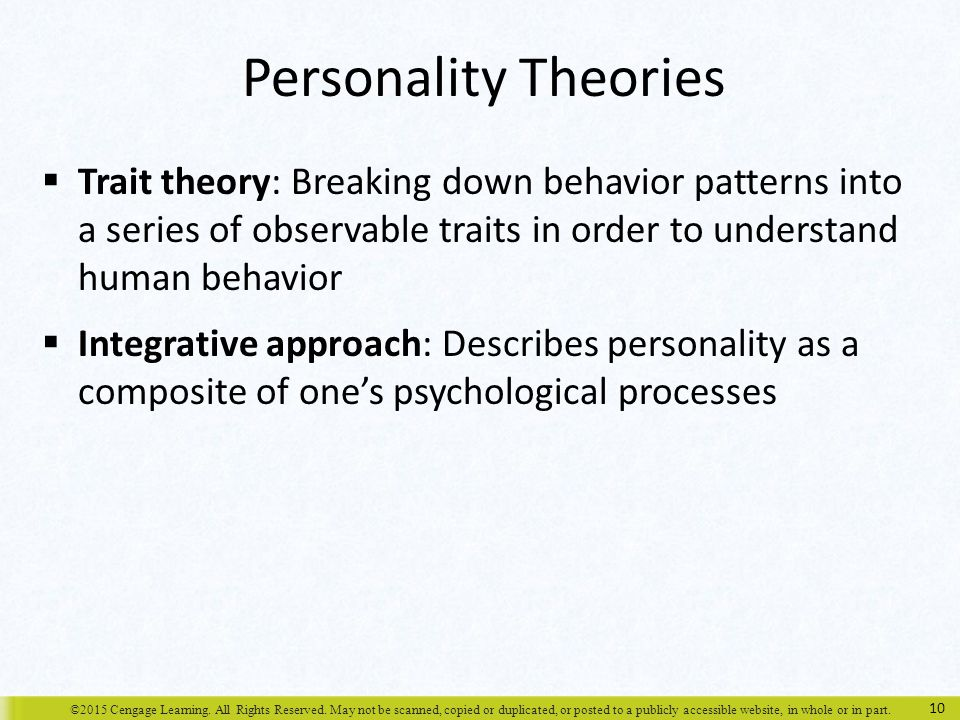 chapter 3 personality  perception  and attribution